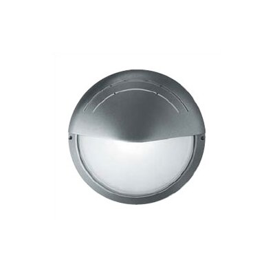 LBL Lighting SuperDelta Tondo Visa Circular Outdoor Wall Lantern