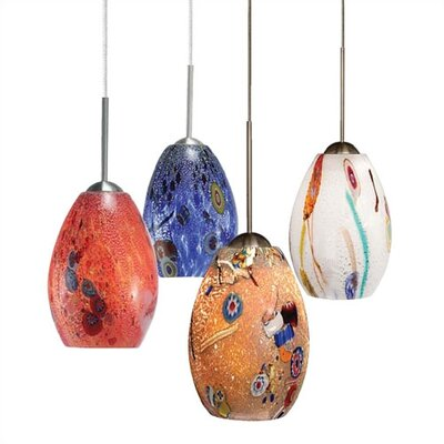 LBL Lighting Monty 1 Light Mini Pendant