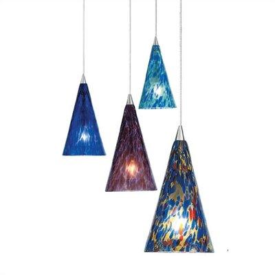 LBL Lighting Cone II 1 Light Mini Pendant