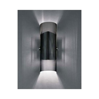 LBL Lighting Presidio 218Q Two Light Wall Sconce in Black
