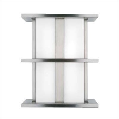 LBL Lighting Modular Tubular 2 Light Small Outdoor Wall Sconce