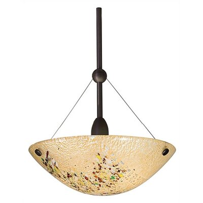 LBL Lighting Mini Veneto 1 Light Mini Inverted Pendant
