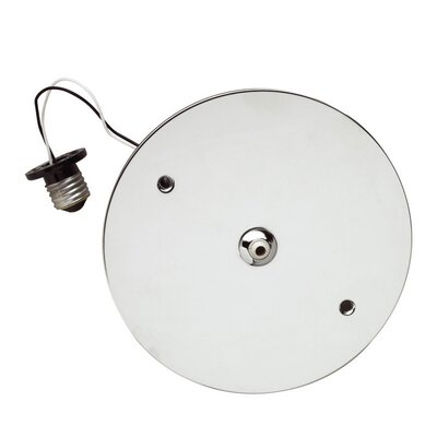 "LBL Lighting Fusion Jack 6"" Recessed Can Adapter Canopy in White"