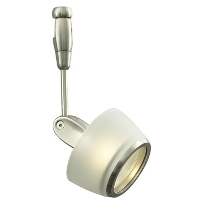 "LBL Lighting Modo Head 6"" with Modern Transparent or Frosted Glass Shade"