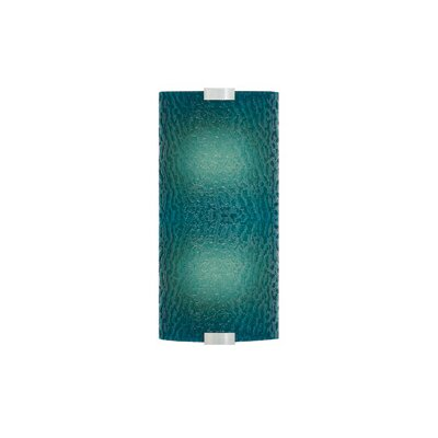 LBL Lighting Omni 277V Medium One Light Outdoor Fluorescent Wall Sconce with Bubble Glass Shade in Bronze