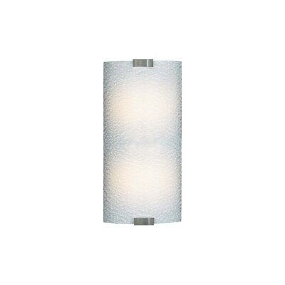 LBL Lighting Omni 120V Medium One Light Outdoor Wall Sconce in Silver