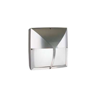LBL Lighting Geoform One Light Square Visor Outdoor Wall Sconce in Bronze