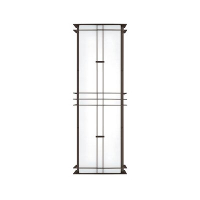 LBL Lighting Modular Industrial 17W 277V Medium Two Light Outdoor Wall Sconce in Stainless Steel
