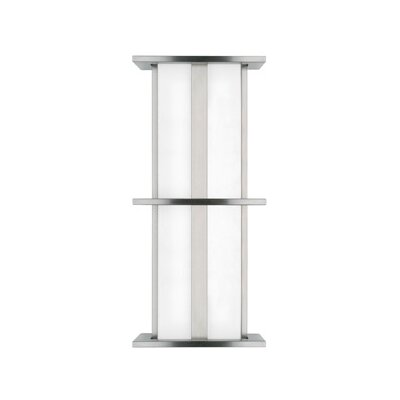 LBL Lighting Modular Tubular 120V 17W Medium Two Light Outdoor Wall Sconce in Bronze