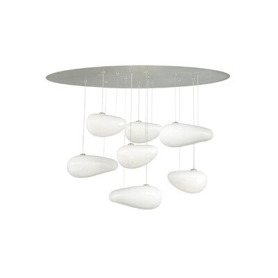 LBL Lighting Constellation 7 Light Chandelier