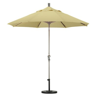 California Umbrella 9' Aluminum Auto Tilt Market Umbrella