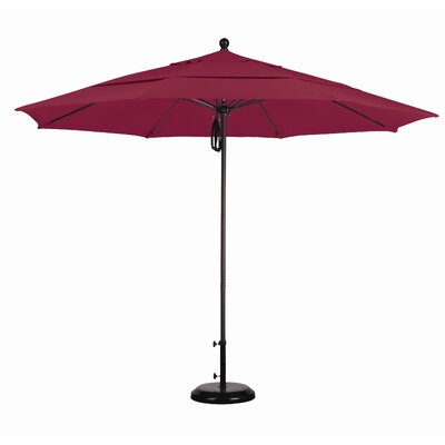 California Umbrella 11' Fiberglass Market Umbrella