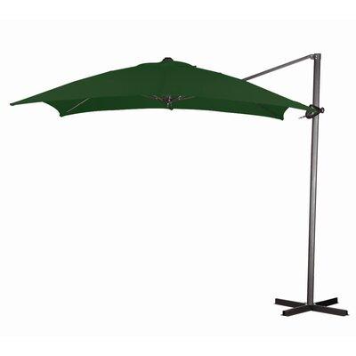 California Umbrella 8' Square Cantilever Steel Market Umbrella