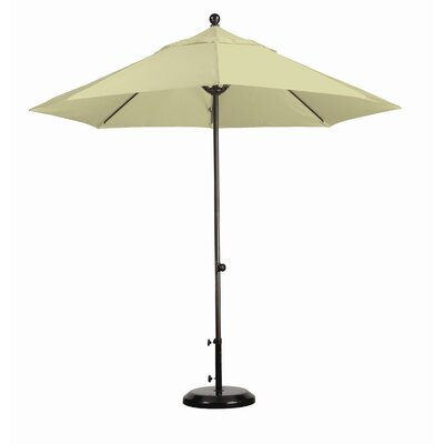 9' Fiberglass Market Easy Lift Umbrella