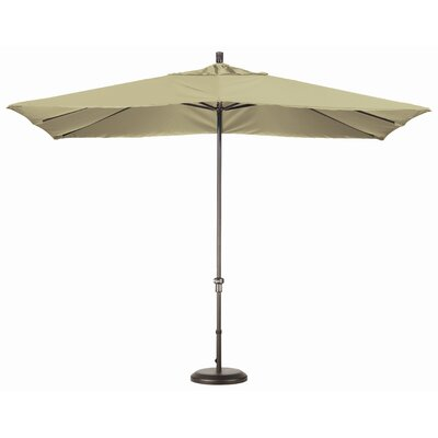 California Umbrella 11' x 8' Rectangular Aluminum Market Umbrella