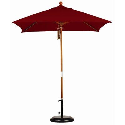 California Umbrella 6' Square Market Umbrella