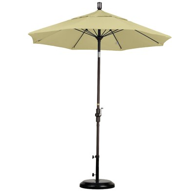 7.5' Fiberglass Market Collar Tilt Umbrella