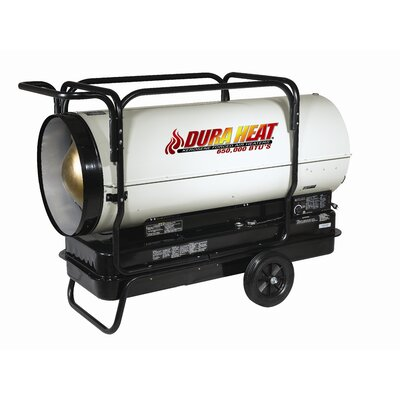 World Marketing Duraheat 650,000 BTU Commercial Series Forced Air Kerosene Heater