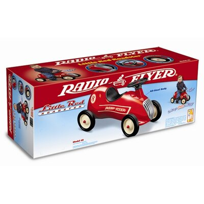 Radio Flyer Little Roadster Push Go Kart