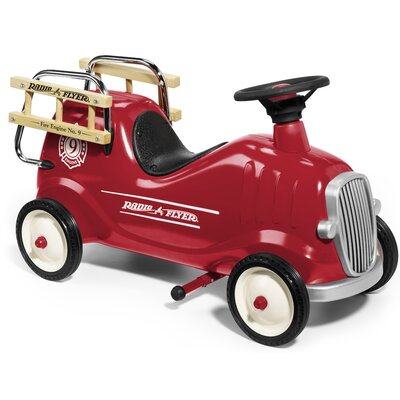 Radio Flyer Little Engine Pedal Fire Truck