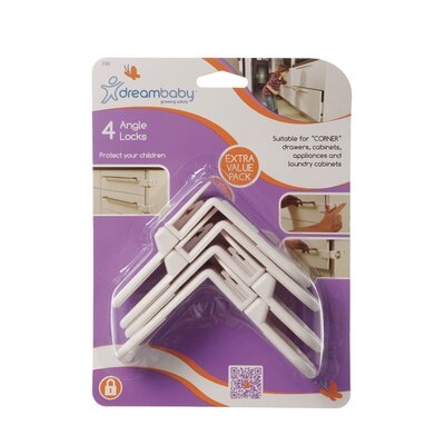 Dreambaby Angle Locks (Set of 4)