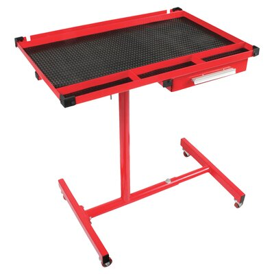 Heavy Duty Adjustable Work Table W/Drawer