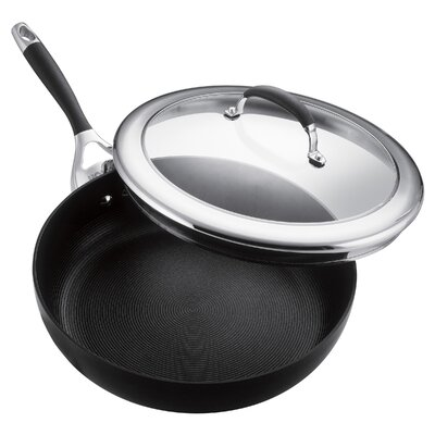"Circulon Elite 12"" Deep Skillet with Lid"