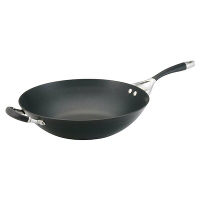 "Circulon Elite 14"" Open Stir Fry Skillet"