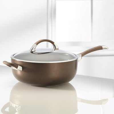 Symmetry 6.5-qt. Stainless Steel Chef's Pan with Lid