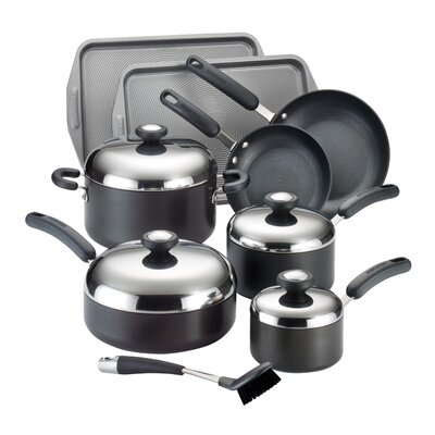 Circulon Total Hard Anodized Nonstick 13-Piece Cookware Set