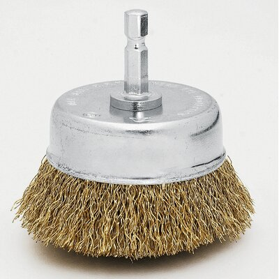 "Vermont American 2-3/4"" Coarse Cup Wire Brush 16783"