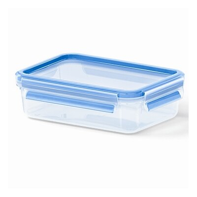 Frieling Emsa by Frieling 28 Oz. 3D Food Storage Shallow Rectangular Clip and Close Container