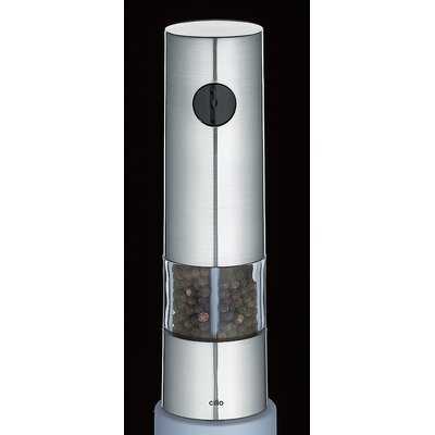 Frieling Monza Electric Pepper Mill in Chrome Satin
