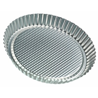 "Frieling Zenker Bakeware by Frieling 11"" Tin-Plated Steel Flan / Tart Pan"