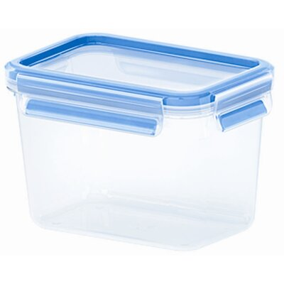 Frieling Emsa 3D Food Storage Deep Rectangular 37 fl oz Clip and Close Container