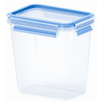 Emsa 3D Food Storage Deep Rectangular 54 fl oz Clip and Close Container