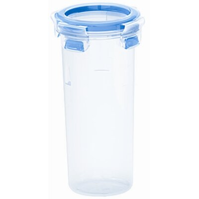 Frieling Emsa 3D Food Storage Round Tall 17 fl oz Clip and Close Container