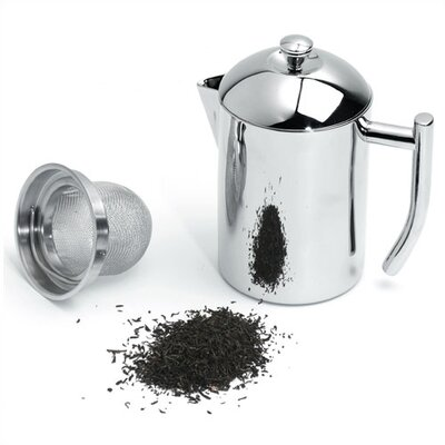 Frieling Stainless Steel 0.5-Quart Tea Maker with Infuser Basket