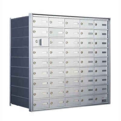 Florence Mailboxes 9 Unit High Private Distribution Mailbox