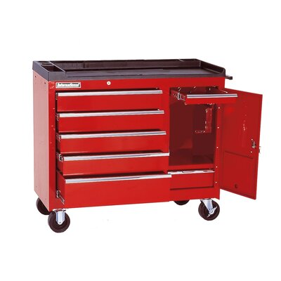 Interdynamics Body Shop Mobile Work Station 7 Drawer Bottom Cabinet