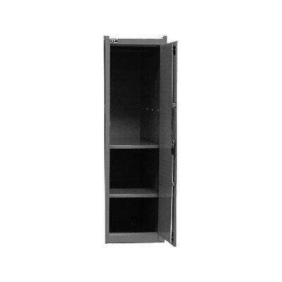 Interdynamics Side Locker W/2 Shelves- Blk