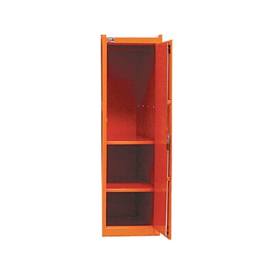 Interdynamics Side Locker W/2 Shelves- Orange