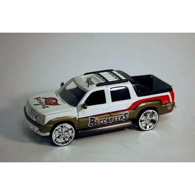 NFL Scale Cadillac Escalade Car - Tampa Bay Buccaneers