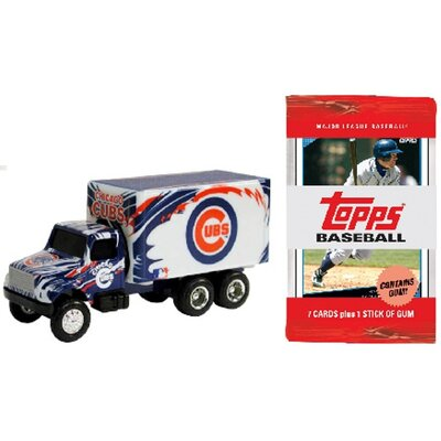 ERTL MLB Sports Truck Diecast with 10 Packs of Trading Cards