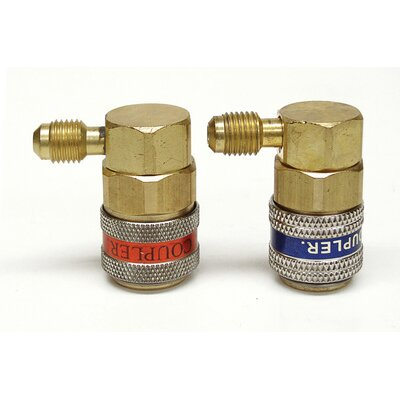 CPS Products R12-R134A Cplr Set W/Ad Pump Adapter