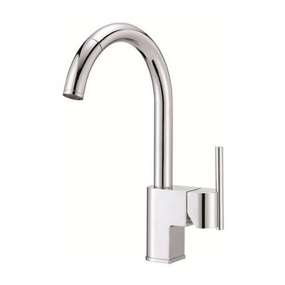 Como Single Handle Single Hole Pull Down Kitchen Faucet