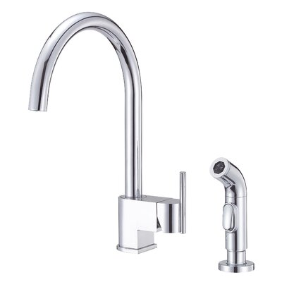 Danze® Como Single Handle Centerset Kitchen Faucet with Spray