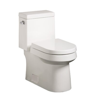 Danze® Ziga Zaga High Efficiency 1.28 GPF Elongated 1 Piece Toilet