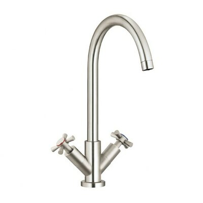 Parma Double Handle Single Hole Kitchen Faucet