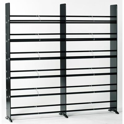 Transdeco International Deco Multimedia Storage Rack